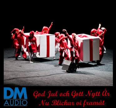 GOD JUL ÖNSKAR VI PÅ DM AUDIO