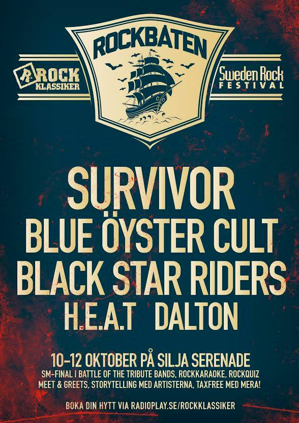 Sweden Rock Cruise 2014